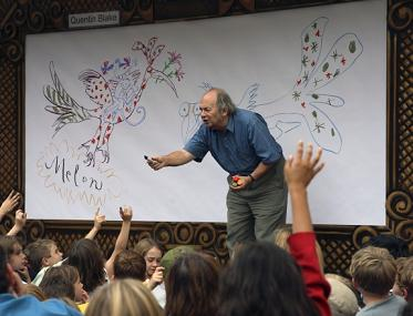 Quentin Blake, Kings College London